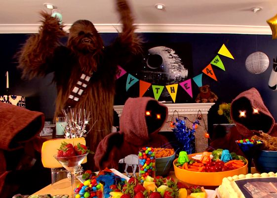 Wookie Party!