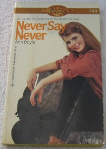 Yasmine Bleeth on Never Say Never