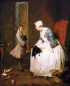Jean-Baptiste-Simeon-Chardin-The-Governess