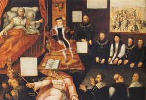 Edward VI and the Pope: An Allegory of the Reformation.