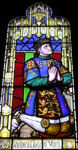 Richard's father, Richard of York, 3rd Duke of York