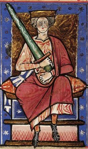 Edgar and Elfrida's son King Ethelred
