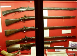 Museum Firearms display