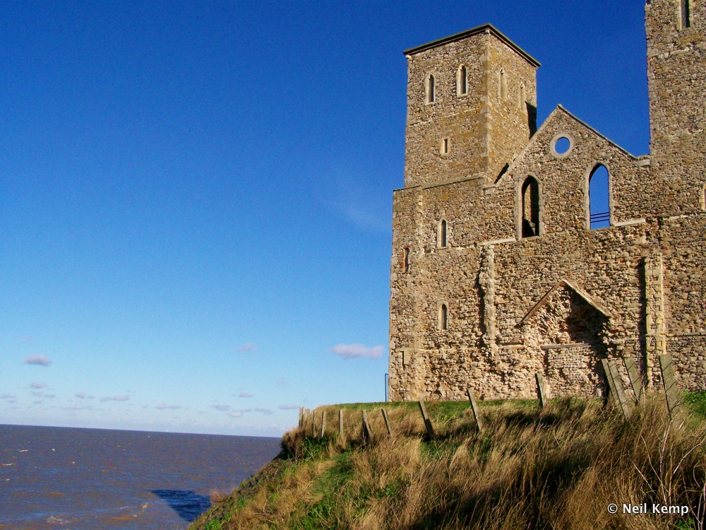 Reculver Roman Tower and Fort