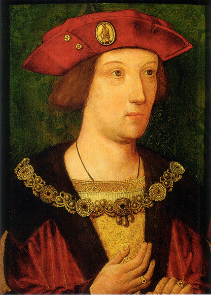 Arthur Prince of Wales c 1500