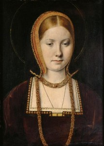 Katherine of Aragon by Michael Sittow c 1502