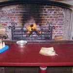 Fireplace in King's Bedchamber