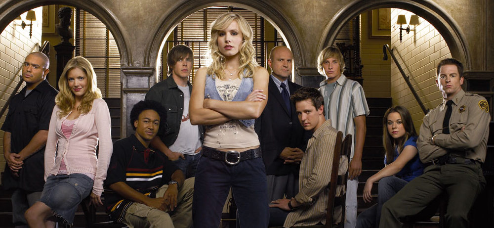The cast of the Veronica Mars series