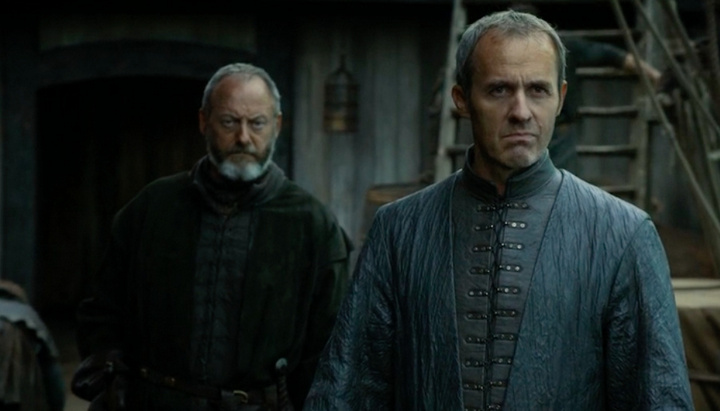 Stannis and Davos approach Braavos