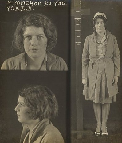 Nellie Cameron,  a notorious prostitute in Sydney in the 1920s and 1930s