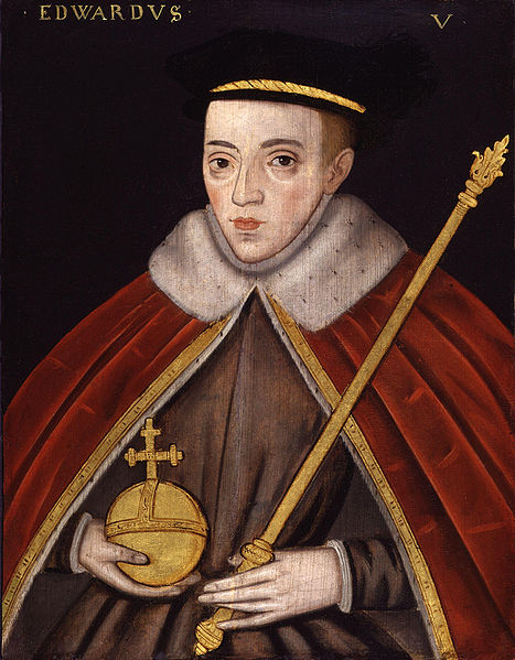 Late 16th-century depiction of Edward V by unknown artist