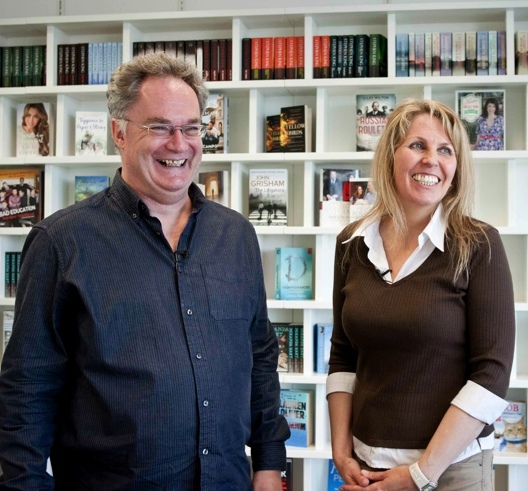 Michael Jones and Philippa Langley|Picture - BBC