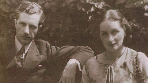 Vera Brittain and her husband, George Catlin
