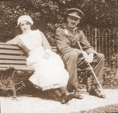Vera and her brother Edward Brittain in 1915