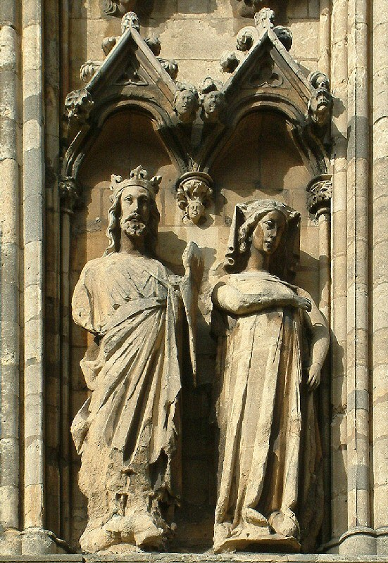 Edward and Eleanor - Lincoln Cathedral