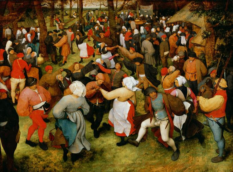 """Pieter Bruegel the Elder's """"Wedding Dance"""""""