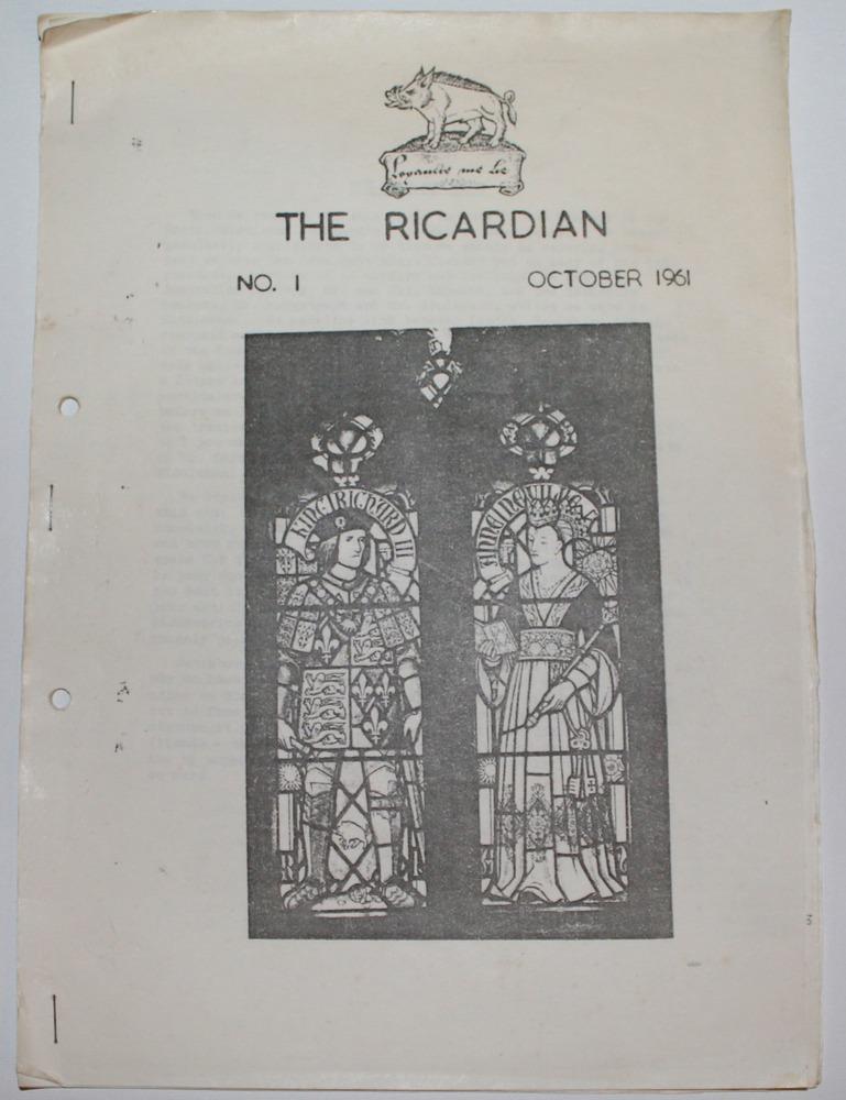 Ricardian-Vol-1-1961