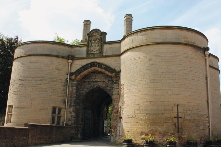 Nottingham Castle Gatehouse, Nottingham, Nottinghamshire.