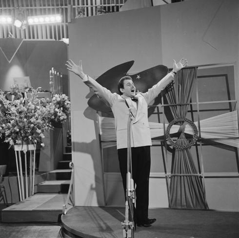 Domenico Modugno at the Eurovision Song Contest 1958