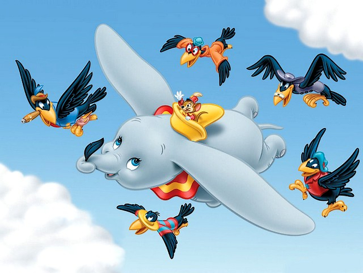 Disney-Dumbo-and-crows