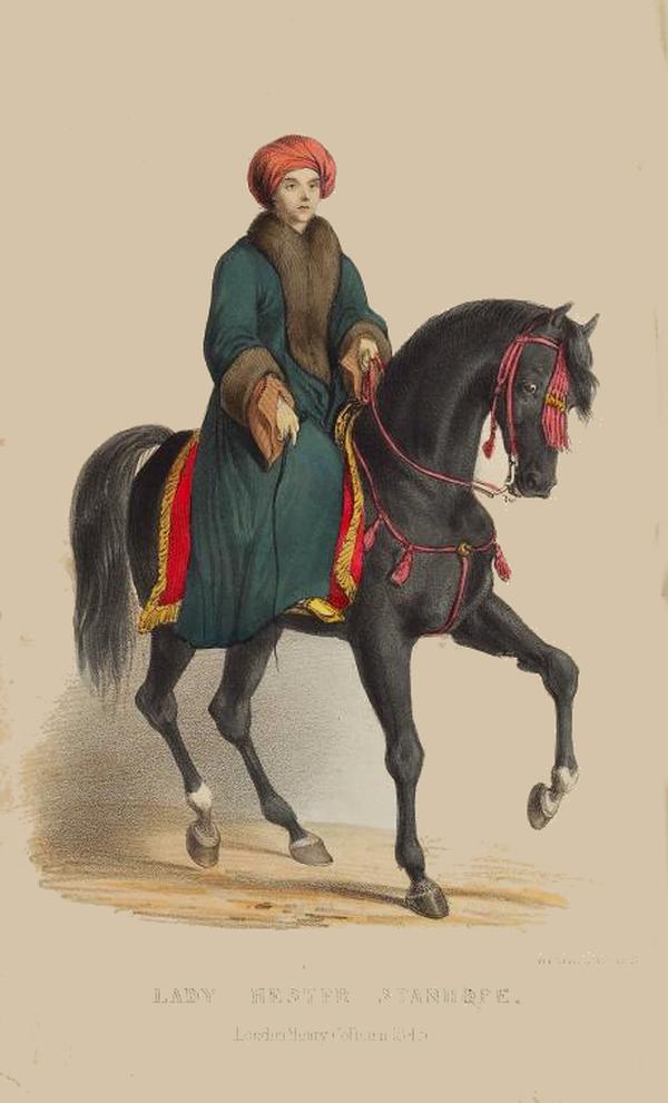 Hester-Stanhope-horseback