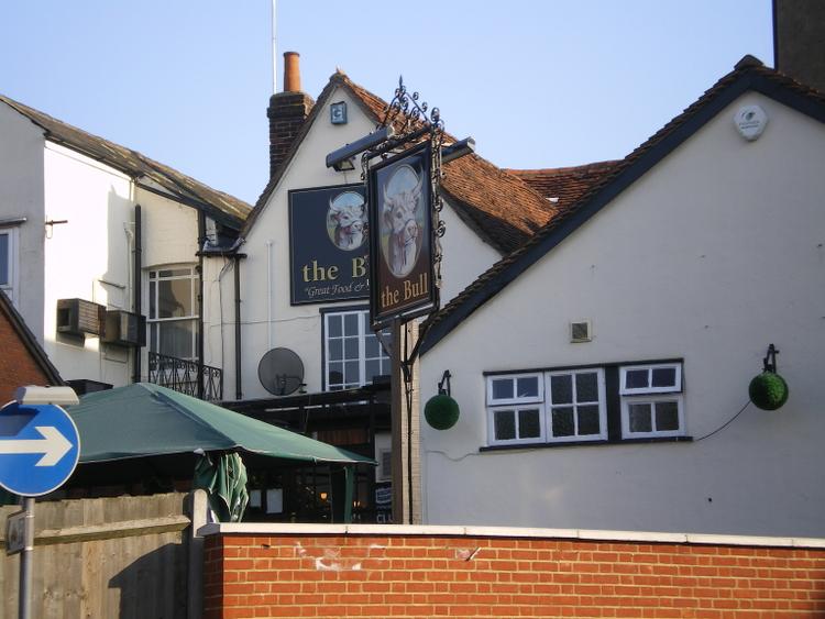 Bull Inn. Colchester - used by John Howard