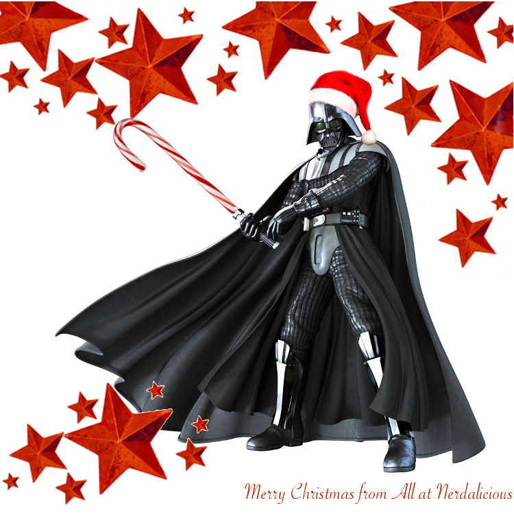 The Force will be with us, always. A Very Merry Christmas from Olga Hughes, in a Galaxy Far Far Away