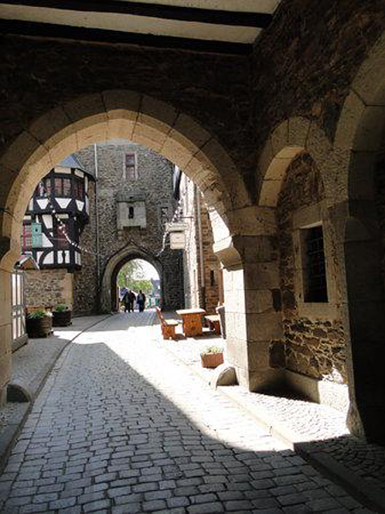 Schloss Burg an der Wupper, where Anne of Cleves spent time during her childhood.