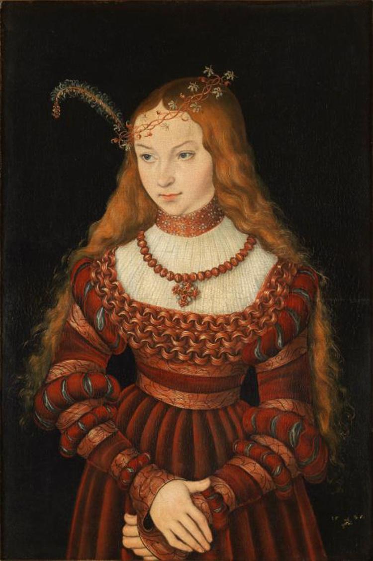 Sybille-Cleves-Lucas-Cranach-the-Elder