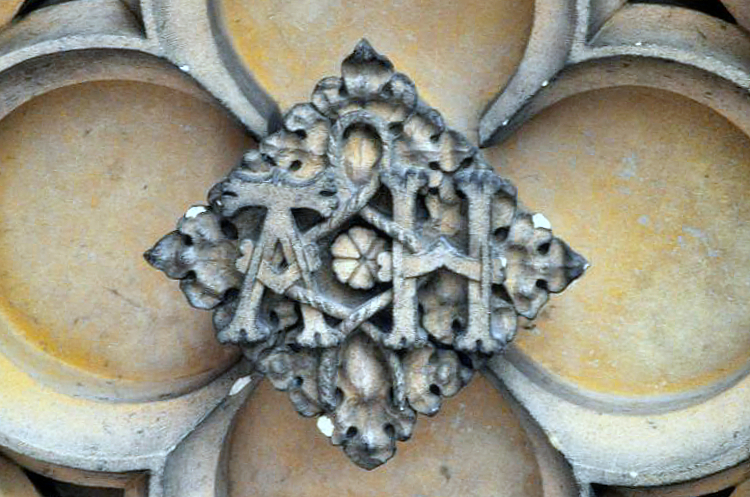 Henry VIII and Anne Boleyn's initials