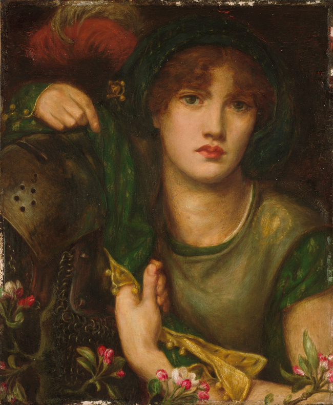 my-lady-greensleeves-dante-gabriel-rossetti